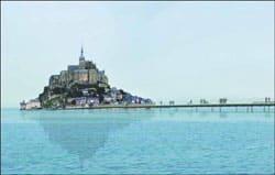 Projet lauréat du concours : le futur pont-passerelle en Baie du Mont-Saint-Michel