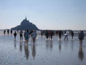 La traversée de la baie du Mont-Saint-Michel